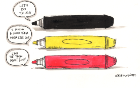What Color is Your Pen?